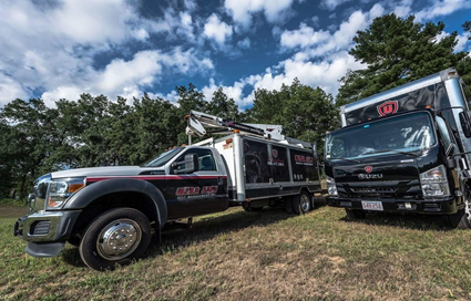 Commercial Pest Control Trucks